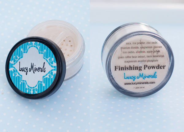 Lucy minerals finishing powder