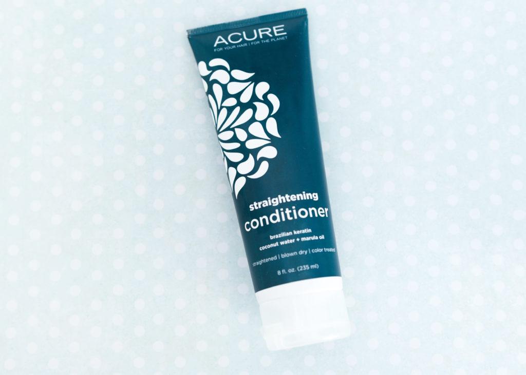 acure organics straightening conditioner